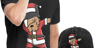 Camiseta y gorra Navidad divertida Hombre