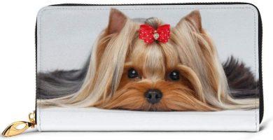 Cartera Yorkshire Terrier con Cinta Linda Yorkie Love