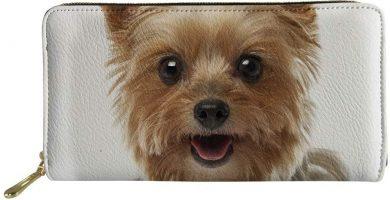 Cartera para mujer Mujer Marrón Yorkshire Terrier