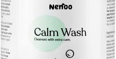 Champú Reparador y Relajante para Perro, Calm Wash para la Piel Seca con Picores, con Aloe Vera, Árbol de Té y Caolín