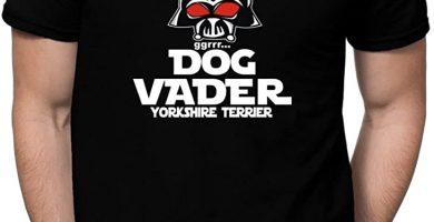 Dog Vader Yorkshire Terrier Camiseta Star Wars