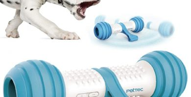 Divertido Hueso de juguete interactivo de PetTec
