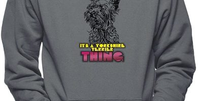 I't'S A Yorkshire Terrier Thing Sudadera para Hombre con Capucha