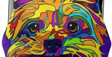 Monedero Multicolor Yorkshire Terrier
