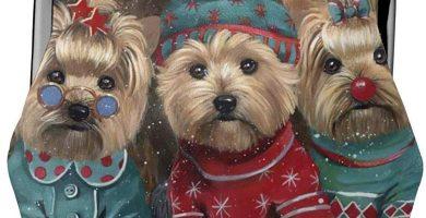Monedero Yorkshire Terrier Christmas Navidad