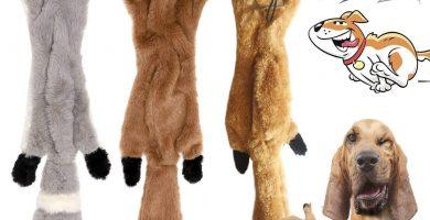 Pack de 3 animales para jugar al tira y afloja con tu yorkshire