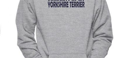 Property of MY Yorkshire Terrier Sudadera para Hombre con Capucha