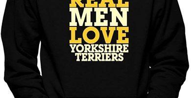 Real Men Love Yorkshire Terriers Sudadera con Capucha
