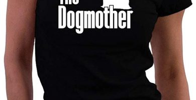 THe Dogmother yorkshire camiseta mujer