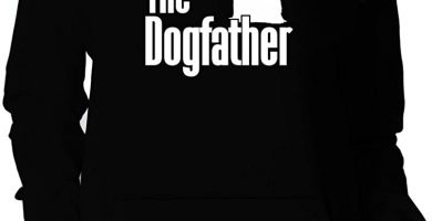 The Dogfather Yorkshire Terrier Sudadera con Capucha para Mujer