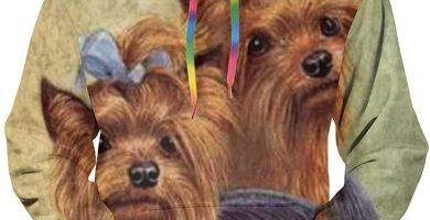 Yorkshire Terrier Puppy - Sudadera con capucha para hombre