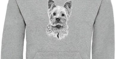 Yorkshire Terrier Sudadera unisex con capucha muy calentita