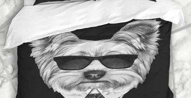 funda nórdica Camisa Cool Moda Romántica Yorkshire Bow Terrier