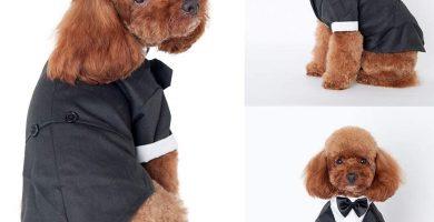 Esmoquin Formal con Corbata Negra Traje de Boda