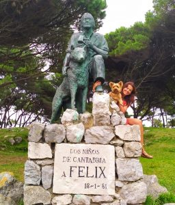 Felix Rodriguez de la Fuente - Santander - ulises mi yorkshire terrier y Laura