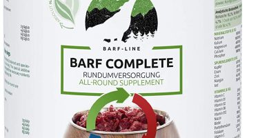 AniForte Barf Complete para Perros 500g - Cuidado Integral Natural 100% equilibrado, Aditivo Barf, Rico en minerales. Aporta vitalidad y Bienestar