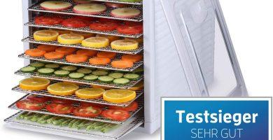 Bio Chef Deshidratador de Alimentos Arizona Sol 9 bandejas – 700W, Temporizador 19.5h, Temperatura 35-70º, Bandejas Acero Inoxidable, BPA Free, Garantía 3 años (Blanco)