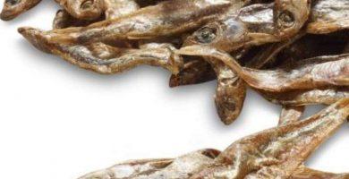 Snack - Para Perros, Gatos y Hurones- Espadines Deshidratados - 100% Natural - 250 Gramos - Sin conservantes NI aditivos | animalujos