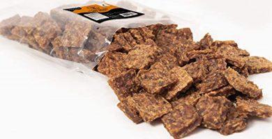 GESPETFOOD - Snack Deshidratado para Perros - 2 Bolsas de 500 gr - Nugget de Pato para Perros - 100% Carne de Pato - Sabor Único - Encías Saludables - 100% Natural - Fabricado en España