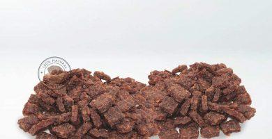 GESPETFOOD Snack Deshidratado para Perros - 2 Bolsas de 500 gr - Nugget de Ternera para Perros - 100% Carne de Ternera - Sabor Único - Encías Saludables - 100% Natural - Fabricado en España