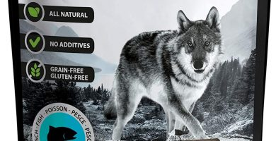 The Hunger of The Wolf - Snack de pescado para perros, 200 g