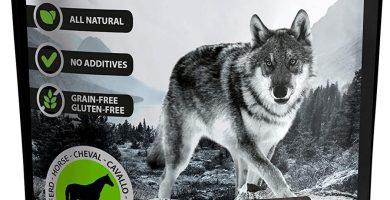 The Hunger of The Wolf - Snack de carne de caballo para perros, 200 g